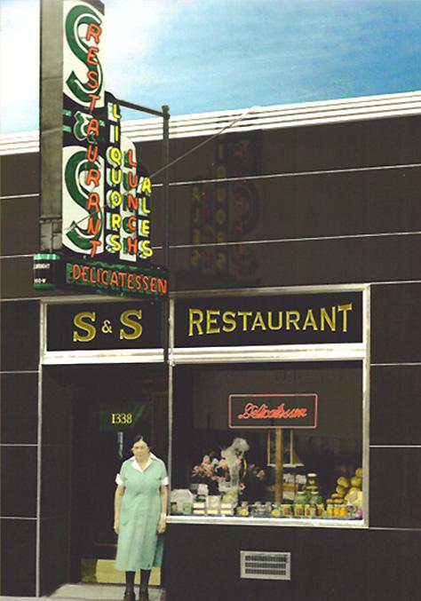 The S&S Deli and Restaurant located in Inman Square, Cambridge MA.