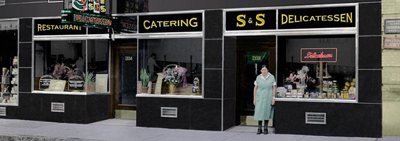 The Ss Deli And Restaurant Located In Inman Square Cambridge Ma